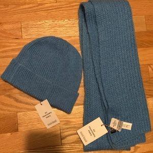 NEW Au Printemps Paris hat and scarf